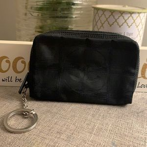 💯 Auth Chanel key chain pouch